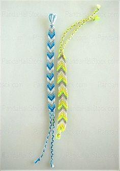 make friendship bracelets patterns