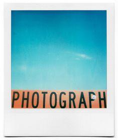 Polaroid by Grant Hamilton