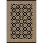 Imperial Aubosson Black 7 ft. 10 in. x 10 ft. 10 in. Area Rug