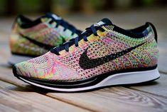 Nike Flyknit Racer - Multicolor