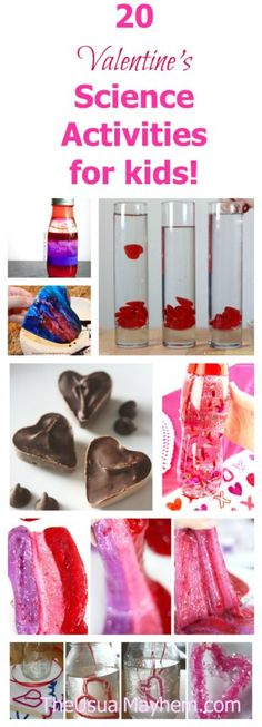 valentine's science activities for kids - cool experiments for kids