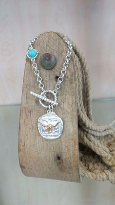 Toggle Longhorn Bracelet