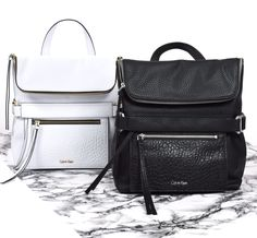 Love these backpacks from Calvin Klein!