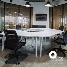 @tugoproyectoscorporativos desarrolla soluciones a la medida para sus espacios de trabajo.  Oficinas AutoMundial  Bogotá – Colombia  * #mueblesdeoficina #Automundial #modularidad #flexibilidad #espacioscolaborativos #salasdereunion #tugoproyectoscorporativos #tugoproyectos #bench #oficinaabierta Accounting, Conference Room, Table, Furniture, Ideas, Home Decor, Environment, Home, Offices