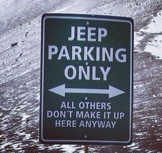 Only in a Jeep!! #jeeplife #jeep4ever pic.twitter.com/TnK9tNK6Bm #jeepedin