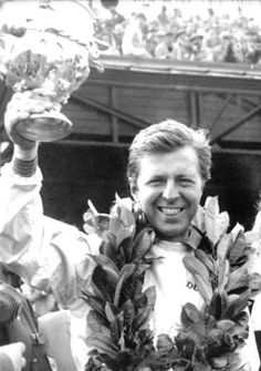 Wolfgang von Trips was racing for the championship at Monza when he was killed. Phil Hill clinched the championship upon Von Trips death.