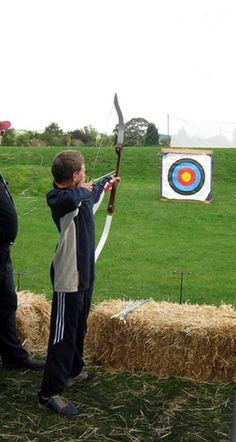 Some archers shoot recreationally, while others reach Olympic competition levels.