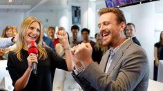 """CAMERON DIAZ & JASON SEGEL BEI BILD Zwei Stars, die gern über ihr """"Sex Tape"""" reden"""