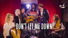 Don't Let Me Down ( The Chainsmokers cover ) // Waxx feat Pomme & Igit &...