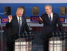 WASHINGTON, (EFE).- Donald Trump y Jeb Bush, precandidatos republicanos a la presidencia de EE.UU., han vuelto a enfrentarse, esta vez por unos comentarios del magnate sobre el papel del expresidente George W. Bush, hermano del exgobernador, en los atentados del 11 de septiembre de 2001. La nueva polémica, una más de las que han protagonizado…