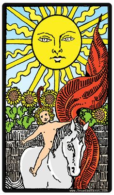 The Sun Tarot Card - Meaning, timing, & more!