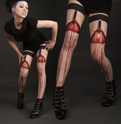 Zombie Pantyhose for @Eva Sue Jane