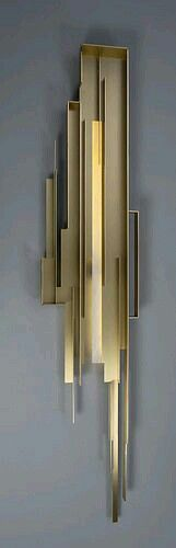 Architectural wall sconce.