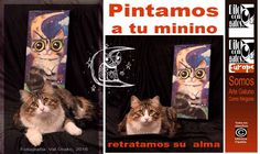 Retratos personalizados. Absolutamente originales =OWO= Arte Gatuno de  Mónica Padilla México