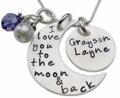 I want this necklace and I want this saying as a tattoo. My son and I say this to each other every day