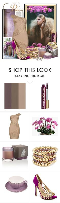 """Hair-Raising Feats of Fashion"" by lavendergal ❤ liked on Polyvore featuring beauty, Graham & Brown, Benefit, New Growth Designs, Molton Brown, MOOD, Bastien and Ivanka Trump"