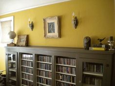 Andi's South Park Bungalow• Living Room: Benjamin Moore, Cork