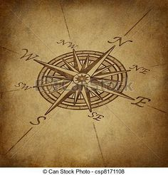 compass map: Compass rose in perspective with old vintage grunge texture representing a cartography positioning direction symbol for navigation and setting a chart for exploration to the north south east or west. Rose Tattoos, New Tattoos, Tatoos, Vintage Compass Tattoo, Nautical Compass Tattoo, Compass Symbol, Map Compass, North Compass, Mandala Compass