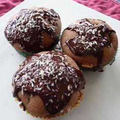 Schoko-Kokosmuffins mit Bananen Rezept | Küchengötter