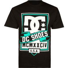 DC SHOES Banner Mens T-Shirt