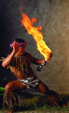 """Samoa Fireknife"" by willya. (Samoa, Polynesia, Oceania)"