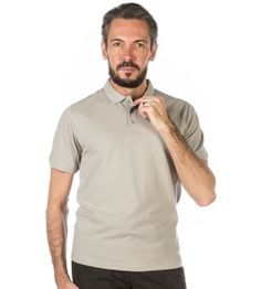 Polo gris perle #polo