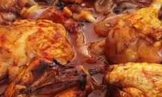 Σκορδόψωμο με θυμάρι και βασιλικό ! Baileys, Chicken, Meat, Food, Gastronomia, Essen, Meals, Yemek, Eten
