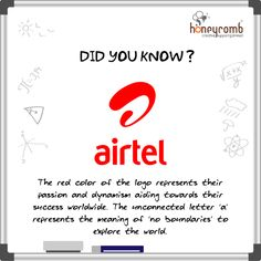 Logo Facts - Hidden meaning of airtel's logo Digital Marketing Strategy, Digital Marketing Services, Web Design, Logo Design, Marketing Branding, Communication Design, Design Agency, Did You Know, Meant To Be