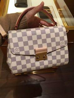 Louis Vuitton Damier Azur Croisette Bag N41581 www.luxvipshopper.com #N41581…
