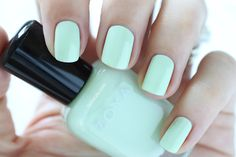 Zoya Spring 2015 Swatches Delight Tiana Light Green Cream Nail Polish