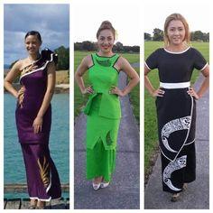 the green one Samoan Designs, Island Wear, Island Outfit, Tahiti, Samoan Dress, Island Style Clothing, Dress Attire, Jaba, Dress Patterns