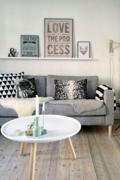 60 Awesome Scandinavian Living Room Ideas - Page 16 of 60