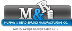 Murphy & Read is a spring manufacturer specializing in design and manufacture of custom and stock compression springs, extension springs and torsion springs, as well as wire forms, stampings, machining, turning and small assemblies.  With over 94 years of experience, we utilize the latest in engineering and manufacturing technology to bring you the highest quality product at unparalleled lead times.