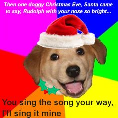Best San Jose Images - Cute Puppy Singing Christmas Carols