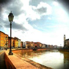 I #lungarni di #Pisa!