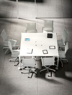 Best MEETiNG TABLES Images On Pinterest Business Furniture - Square conference room table