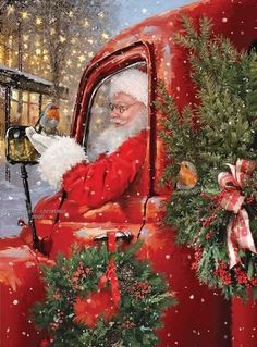 Christmas Pictures, Christmas Art, Christmas And New Year, Beautiful Christmas, Christmas Themes, Christmas Wreaths, Xmas, Christmas Ornaments, Holiday Decor