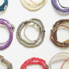 You can change the word...one deed, one bead, one act of kindness at a time. #EthicalFashion