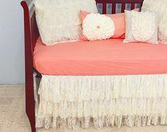 Lace Baby Crib Bedding- LOOOOVE!!!!