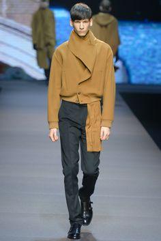 Ermenegildo Zegna Men's RTW Fall 2014 - Slideshow - Runway, Fashion Week, Fashion Shows, Reviews and Fashion Images - WWD.com