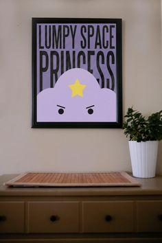 Adventure Time / Lumpy Space Princess / Poster