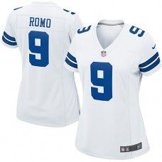 82d35d913b8 Womens Nike Dallas Cowboys http://#9 Tony Romo Elite White Color Jersey