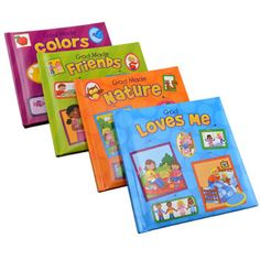 Get their imaginations going with these fun children's books. Padded cover books are include tales of origins from a religious perspective and are a great addition to home libraries, preschools, d
