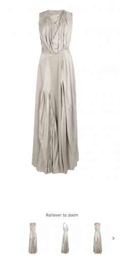 Heather Maxi Dress - Oyster - $650  Size 0