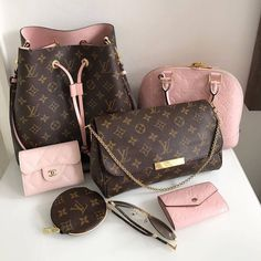 Louis Vuitton Collection. LV Favorite Bag, Wallet, Monogram Neonoe Bag.