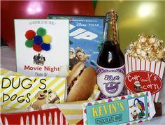 Disney Pixar UP Movie Night