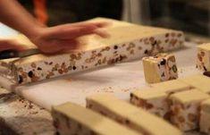 Nuga - reteta ca la turci - BZI. Honey Recipes, Sweets Recipes, Cooking Recipes, Romanian Desserts, Romanian Food, Nougat Recipe, Sweet Tarts, Arabic Food, Diy Food