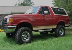 The Ford Bronco is a sport utility vehicle that was produced from 1966 through 1996