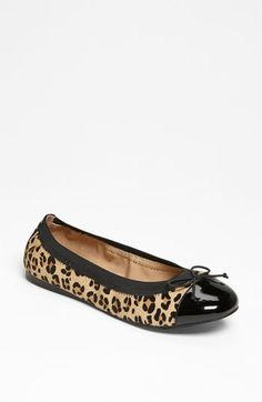 BP. 'Mindy' Ballet Flat available at Nordstrom....didn't you say you wanted some Leopard flats....on sale baby!