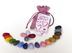 Crayon Rocks Heart Bag